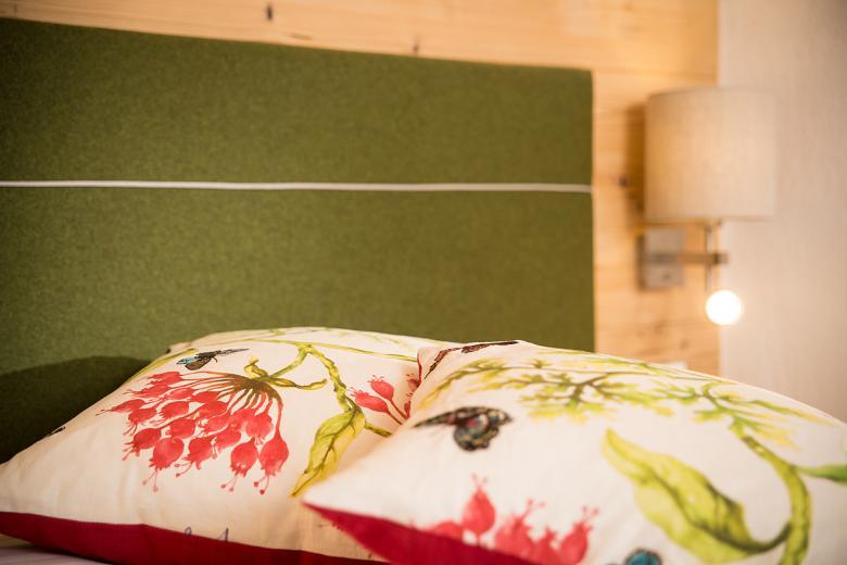 Holzzimmer für das Wohlbefinden